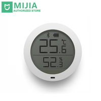 Original Xiaomi Mijia Thermometer Smart Bluetooth Temperature Humidity Sensor LCD Screen Digital Moisture Meter Mi Home