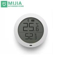 Original Xiaomi Mijia Thermometer Smart Bluetooth Temperature Humidity Sensor LCD Screen Digital Moisture Meter Mi Home