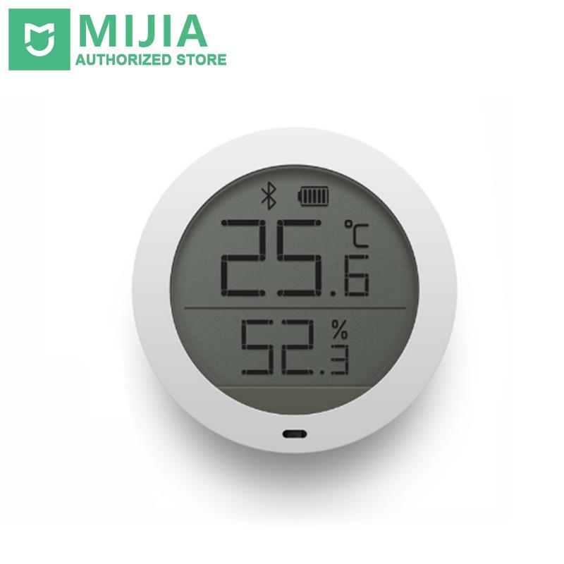 Оригинал Сяо mi Цзя термометр чернил Smart Bluetooth Температура Ху mi dity Сенсор ЖК-дисплей Экран цифровой измеритель влажности mi приложение Home