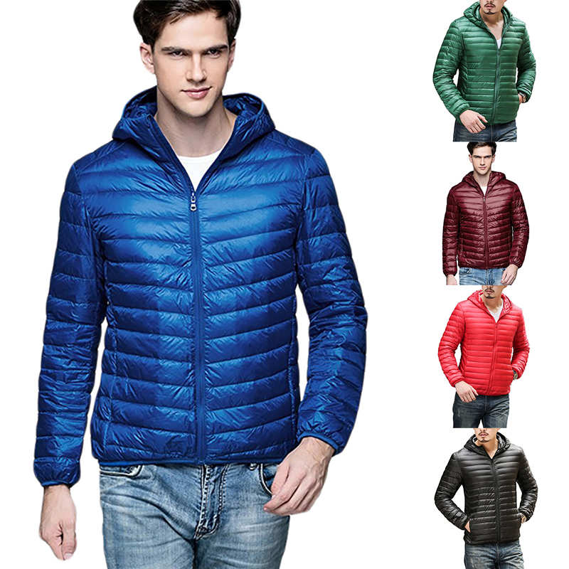 Winter Men Jacket Fashion Brand Casual Mens Jackets And Coats Thick Parka Men Outwear 2XL Jacket Male Clothing 5 Colors Dropship