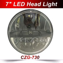 CZG 7″ Round LED OffRoad Light LED Headlight LED Hi/Lo Beam Driving Light LED head Lamp for Harley for Jeep Wrangler 4×4 UTV SAV