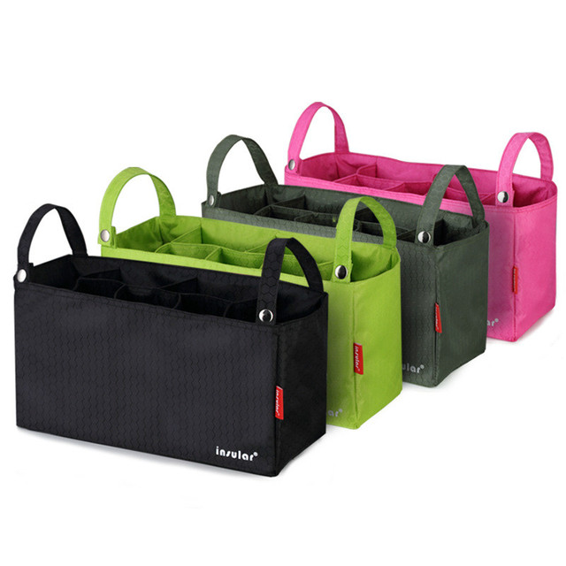 High Quality Baby Stroller Accessories Baby Waterproof Multifunctional Stroller Bag Baby Stroller Anti-lost Organizer 9 Colors