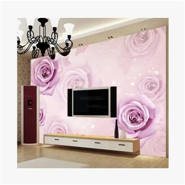Beibehang Papier Peint Romantique Maisons Salle De Mariage Chambre - Papier peint romantique chambre