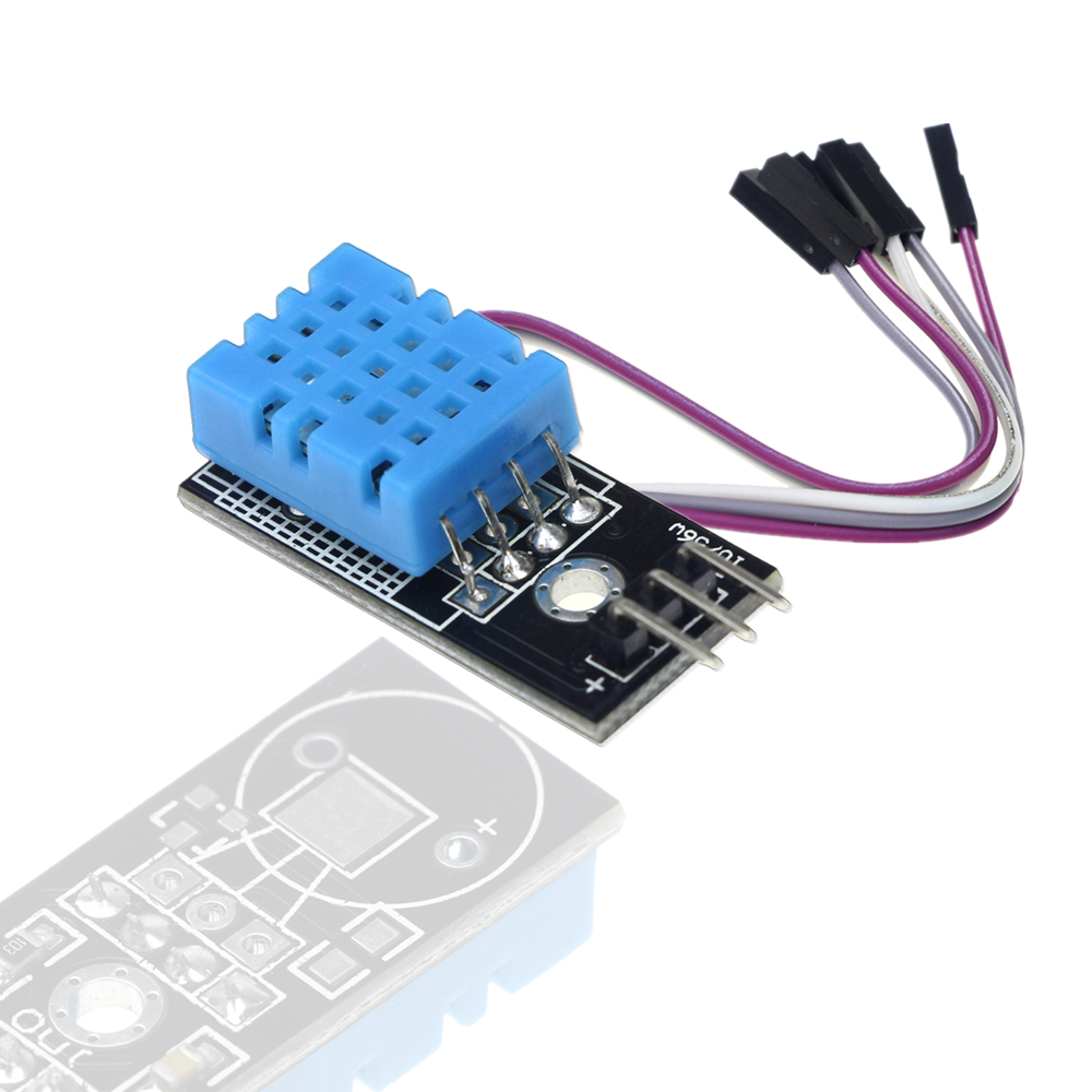 DHT11 модуль датчика температуры относительной влажности с кабелем для arduino Diy Kit
