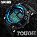 2017 Men's SKMEI Brand Led Digital Watch Man Chronograph Alarm Clock Sport Watches Men Waterproof Shock Resist Mens Wristwatches