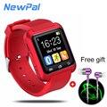 Smartwatches U80 Спорта Для Взрослых Smart Watch telefones Часы Фитнес-Трекер для iPhone Samsung Android Phone
