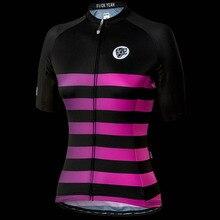 ATTAQUER Womens All Day Faded Stripe Jersey Magenta Sweatshirt Summer Men s  Short Sleeve Jersey Team cycling 6dfbc4ce8