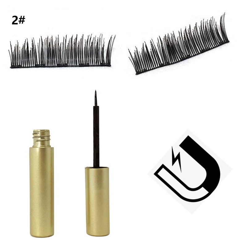 DEEP EYES 2019 New magnetic liquid eyeliner for magnetic eyelashes (eyeliner + magnetic eyelashes)