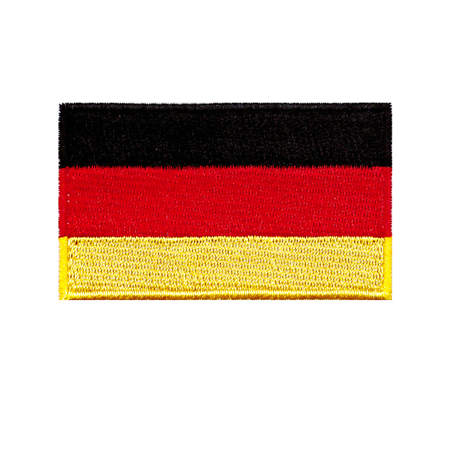 3c872879314 German flag embroidered patchwork fabric badge pants or bag decals  decorative patch embroidery