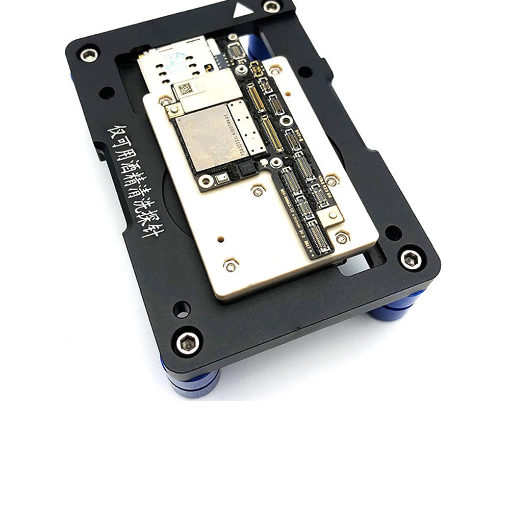 WL iSocket Jig for iPhone X PCB Motherboard Test Holder Fast Folded Two Halves Logic Board Testing Fixture Without Disassembly - 5
