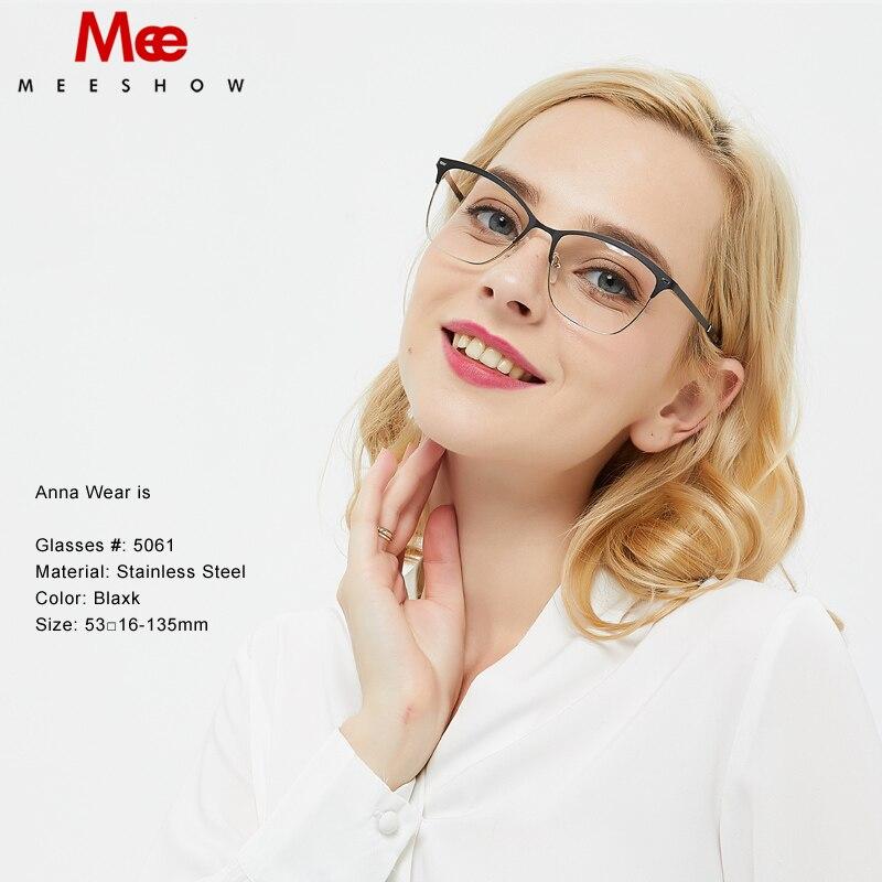 150c3efd31 Titanium Alloy optical Glasses frame glasses women oculos de grau feminino  armacao eyeglasses vintage frame chic