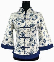 Spring Fashion Chinese Tradition Women S Top Blouse Shirt Jacket Linen Size S M L XL