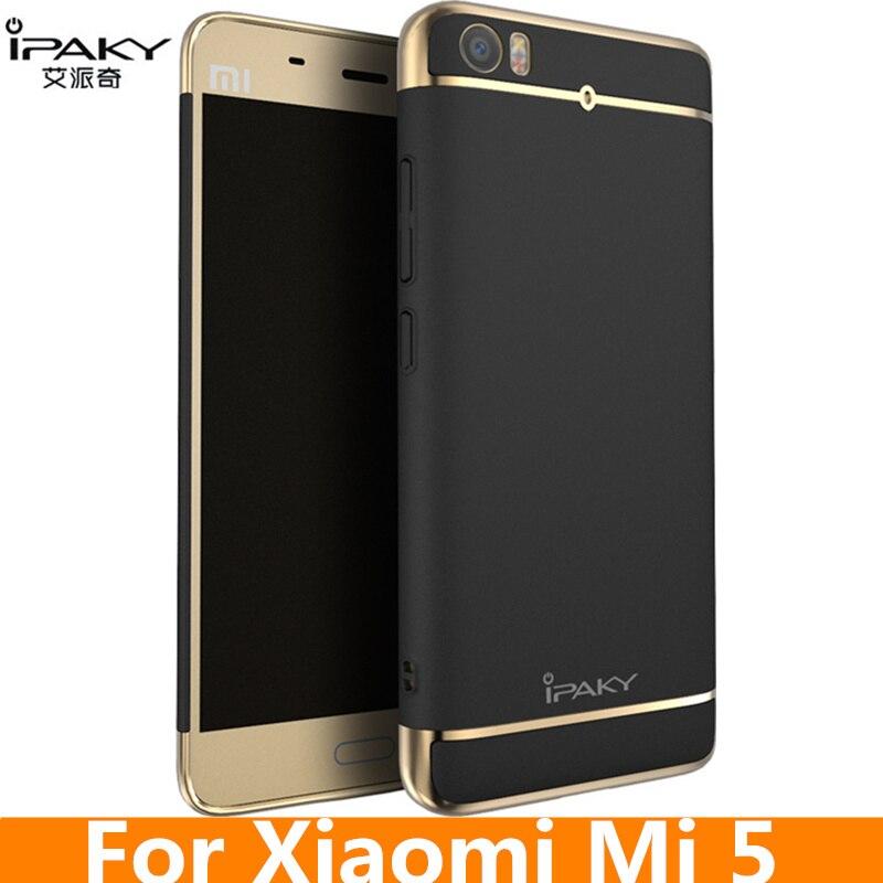 25281b3a442 for Xiaomi Mi5 Case Original iPaky Brand Electroplating PC Hard Protect  Cover for Xiaomi Mi 5 fundas carcasas Mi 5 Case Cover