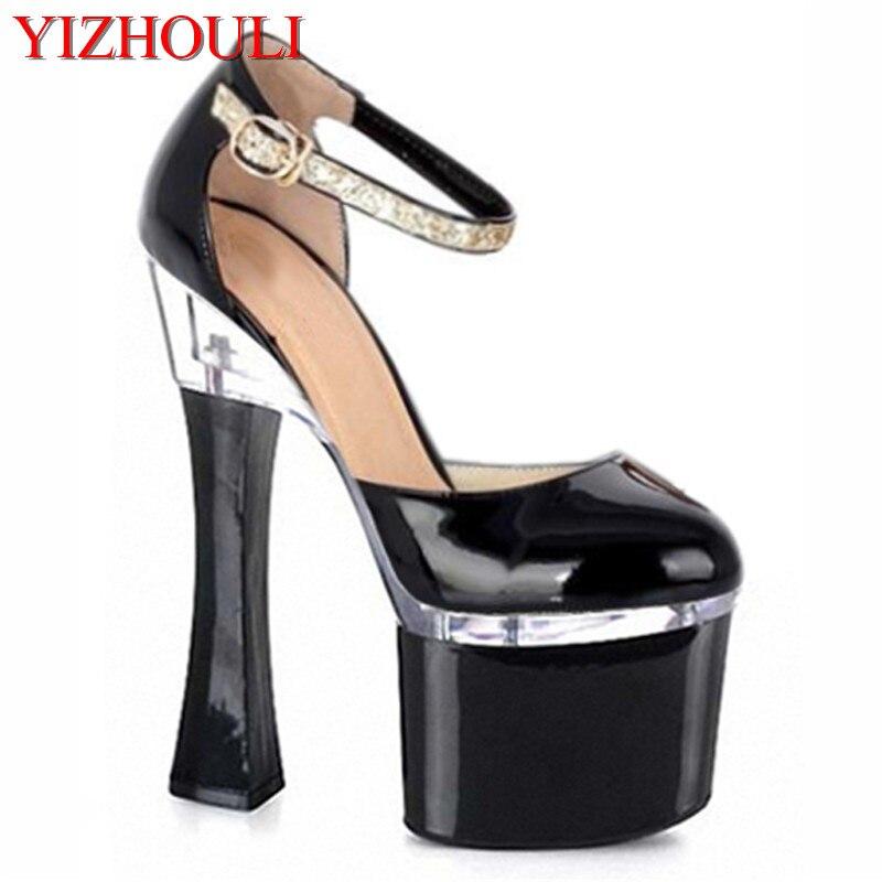 Femmes Mode Nouvelles De Danseuse Cm Chaussures Chaude 18 Noir Haute Partie Dames Sexy Exotique Vente Robe Talons wEq4Xq