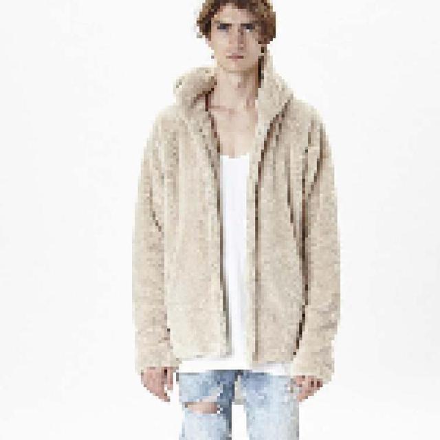 Sherpa hoodie streetwear cool kanye west clothing fashion hip hop skateboard urban clothes swag Men hoodies Hooded Cardigan in Hoodies & Sweatshirts