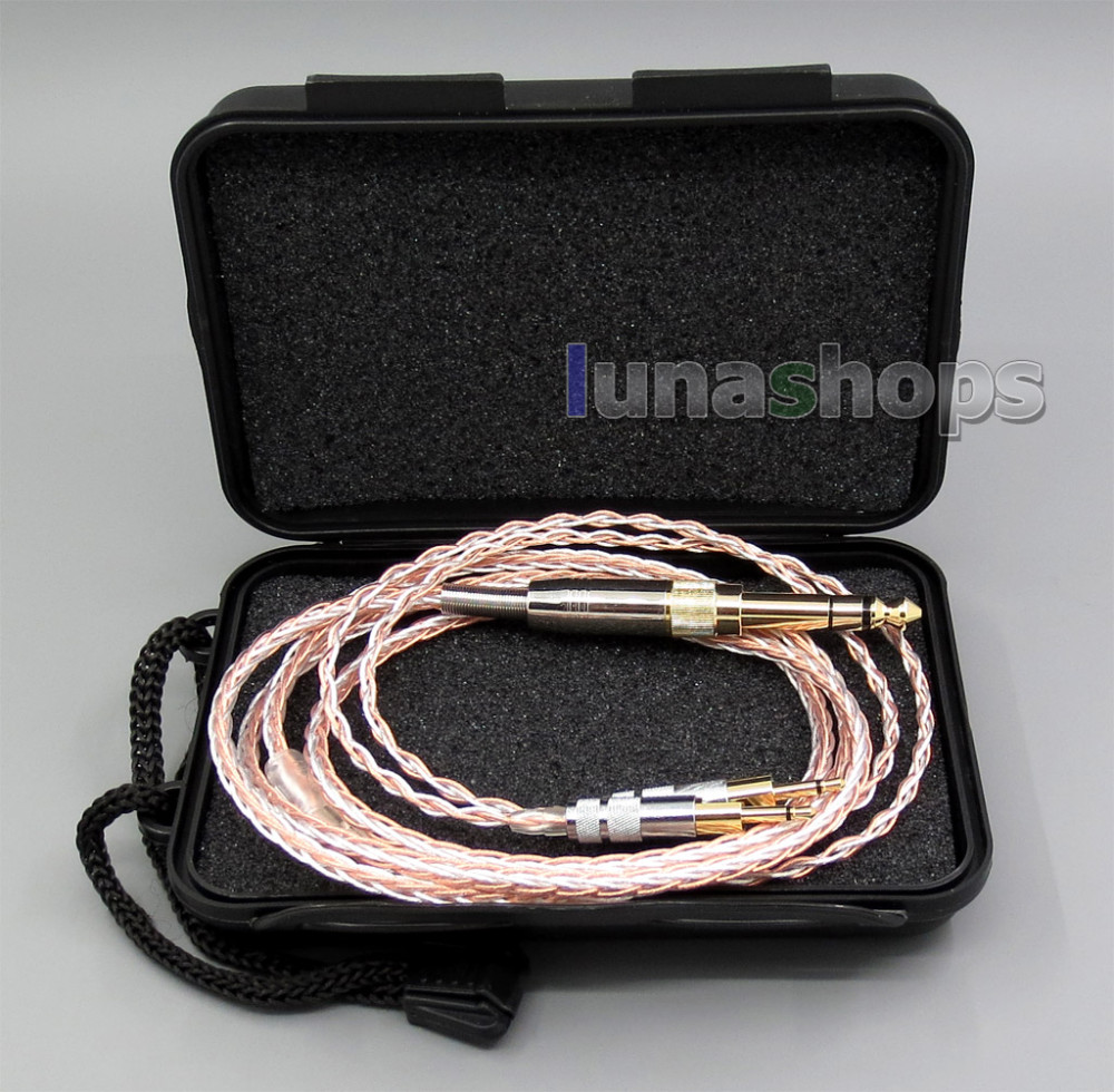 800 Wires Soft Silver + OCC Alloy Teflo AFT Earphone Cable For Sennheiser HD700 Headphone LN005404 800 wires soft silver occ alloy teflo aft earphone headphone cable for audeze lcd 3 lcd3 lcd 2 lcd2 ln005399
