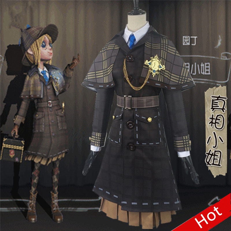 Identity V Cos Emma Woods Hot Game Cosplay Costume