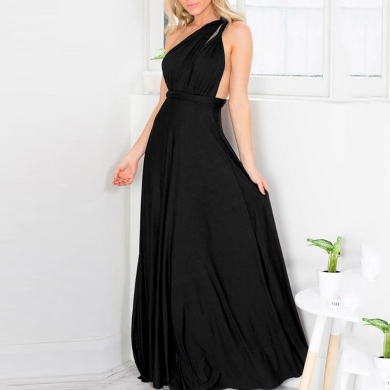women clothing Convertible Multi Way Wrap Long Maxi Dress party beachwear summer dress