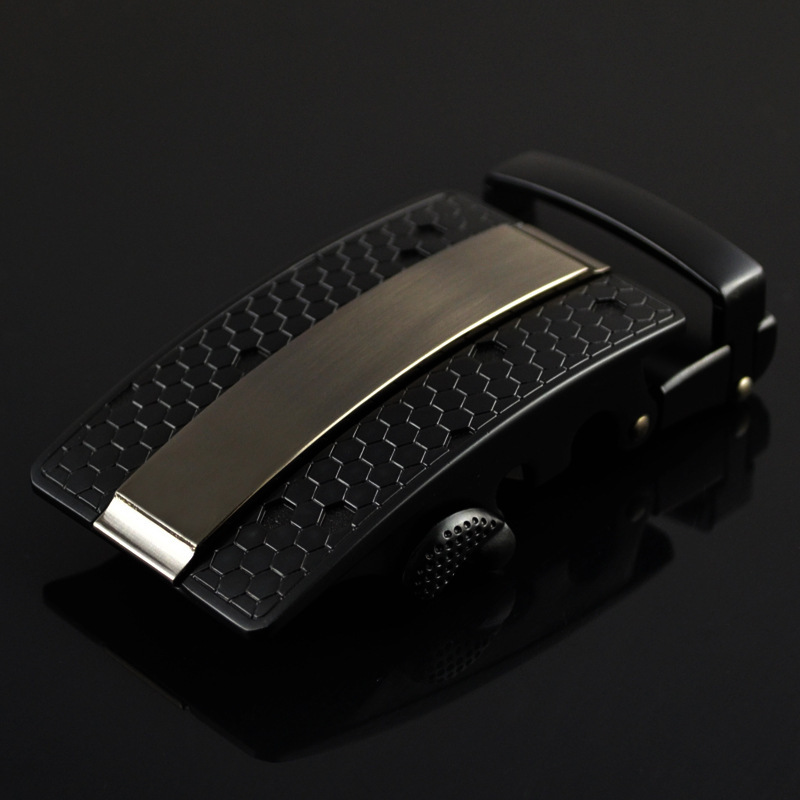 Men's Business Alloy Automatic Buckle Unique Men Plaque Belt Buckles 3.5cm Ratchet  Apparel Accessories Designer Belt LY125-0352