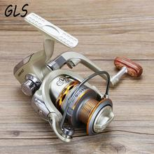 2017 new model 1000-7000 seires 13BB metal front drag spinning fishing reel free shipping Fishing Spinning Reel