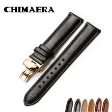 CHIMAERA Genuine Calf Watchband 18mm 19mm 20mm 21mm 22mm Watch Band Leather Stra