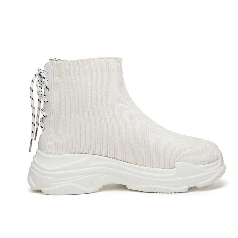 Toile Chaussures Mode Sneakers Retour Plate Blanc Noir Casual Ph111 Phoentin forme Noir Lacent Femme Femmes white Dames 2018 4dpqqwx5f