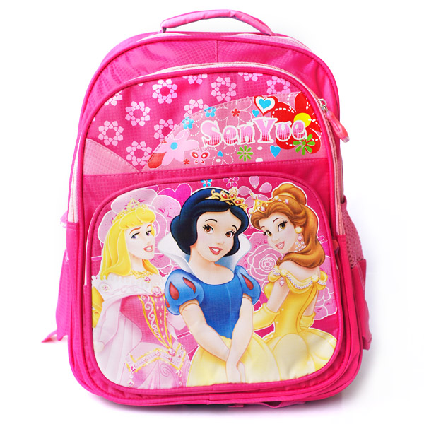 Aliexpress.com : Buy Primary school students book bags pink color ...