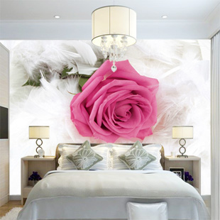 Custom large mural sofa marriage room bedroom living room TV background 3D wallpaper 3D wallpaper wall art romantic roses 3d custom the house full of romantic love sea murals large mural peacock bedroom wallpaper tv wall wallpaper