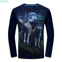 3D Printed Tshirt Kids Boys Men T Shirt Spring Autumn Teen Clothing Fashion Long Sleeve Tops