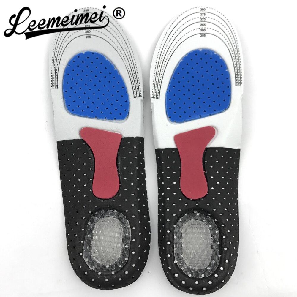 Мужская ортопедических Arch Поддержка спортивной обуви Pad Бег гель Стельки вставить Подушки для Для мужчин Для женщин Уход за ногами