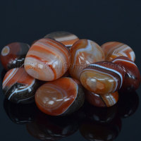 Bulk Tumbled Carnelian Agate Stones From Brazil Natural Polished Gemstone Supplies For Wicca Reiki And Energy