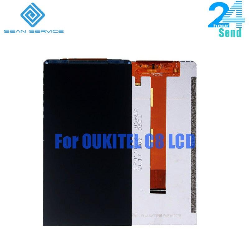 For Original Oukitel C8 LCD Display Screen 18:9 Display 5.5 inch 1920X1080P Repa