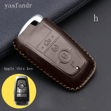 car accessories key cover araba aksesuar case styling for Ford 4 button remote keyless protector holder