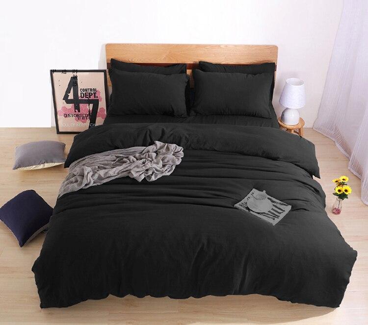 Jogo de cama preto