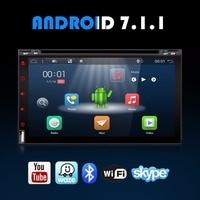 Bosion 2DIN Car Radio Android 7 1 1 Full Touchscreen Quad Core 2G RAM 16G ROM