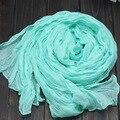 2015 Venta Caliente 25 Colores Disponibles Las Mujeres Del Mantón de La Manera Bufanda Caliente Suave Viscosa hijab Bufanda Larga Bufanda Femenina
