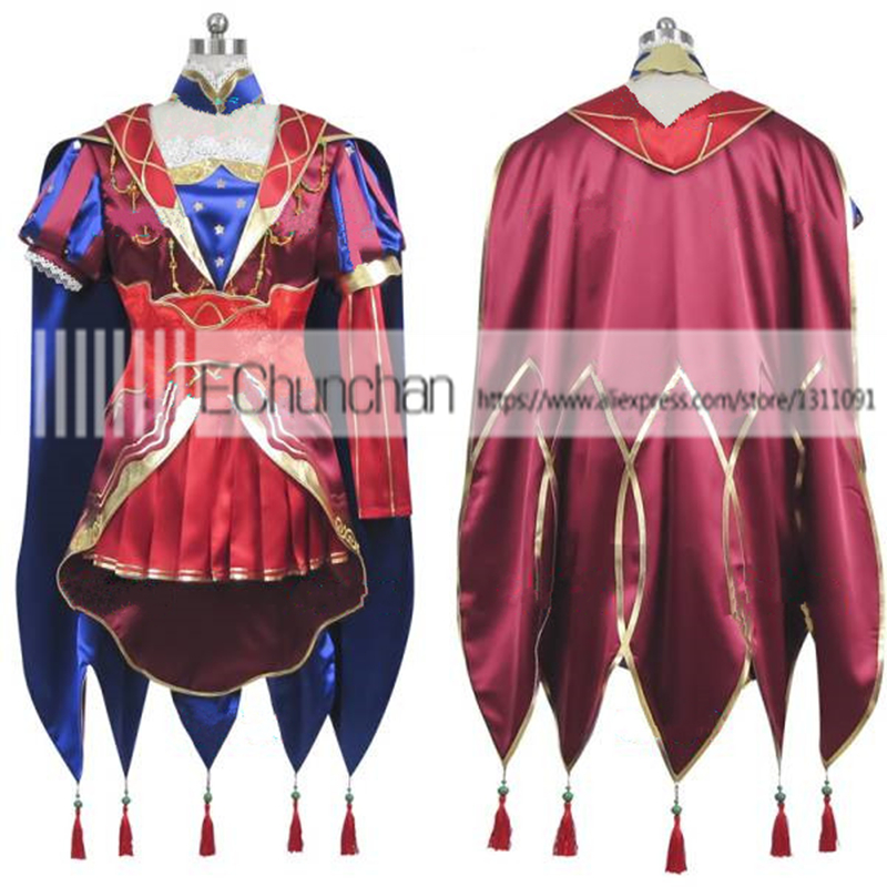 Fate Grand Order Leonardo Da Vinci Party Dress Cosplay Costume Halloween Costume Costumes Halloween Costumes Cosplay Costumehalloween Costume Aliexpress