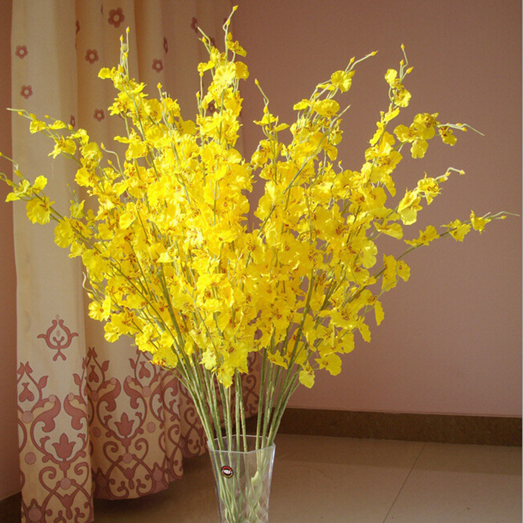 Buy artificial orchid flower realistic for Artificial flowers for wedding decoration