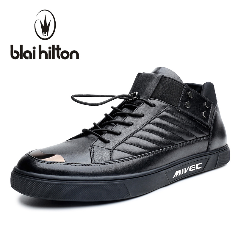 Blaibilton British High Top Quality Luxury 100% Genuine Leather Men Shoes Fashion Patchwork Mens Shoes Casual Designer SD6200 116 43 650 41 001000[