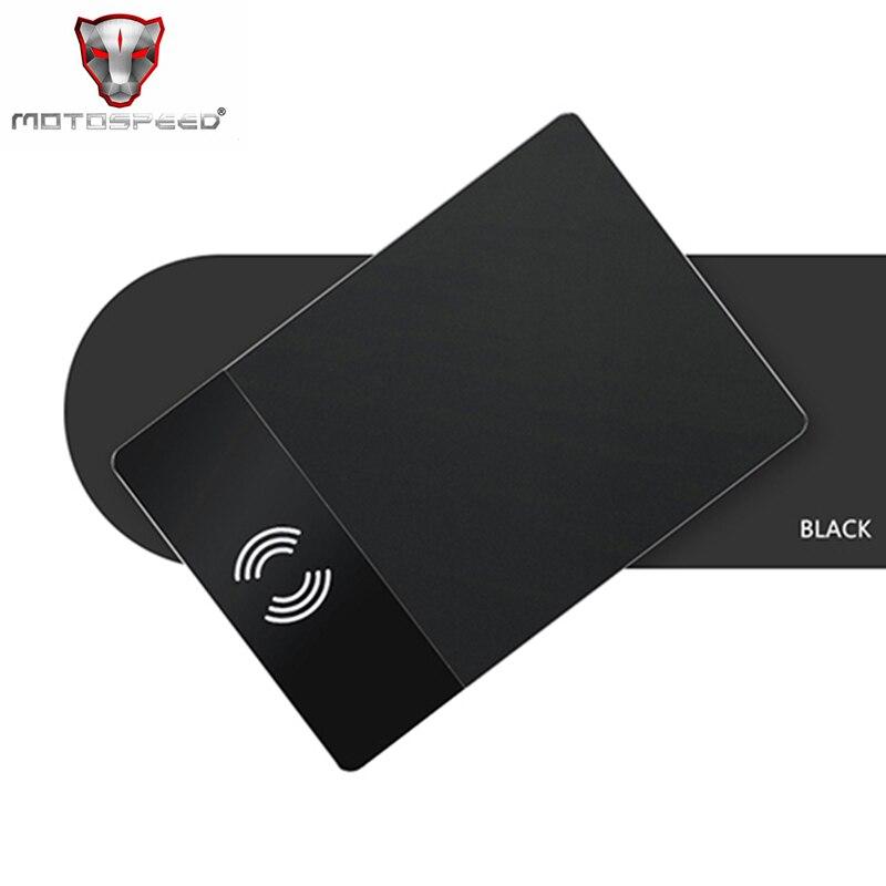 Qi Sans Fil De Charge Souris Pad P91 Noir Anti slip Ordinateur Chargeur de Jeu Tapis De Souris Gamer Soutien Pour Mobile téléphone PC