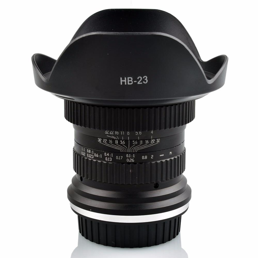 Lightdow 15mm F 4 F4 0 F32 Ultra Wide Angle 1 1 Macro Lens for Canon