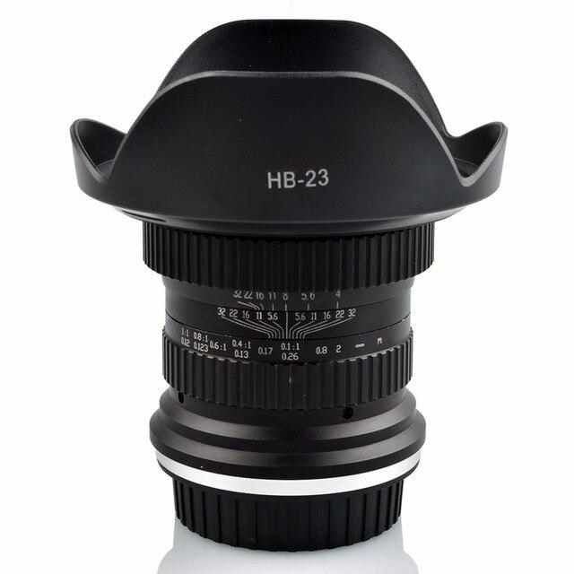 US $229 22 9% OFF|Lightdow 15mm F/4 F4 0 F32 Ultra Wide Angle 1:1 Macro  Lens for Canon Nikon Digital SLR DSLR Cameras-in Camera Lens from Consumer