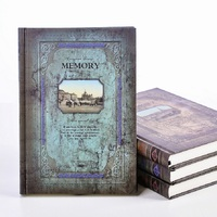 European Style Thick Retro Magic Book Notebook A5 Hard Surface Notepad Birthday Valentine S Day Gift