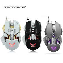 X300GY Professional Mouse Gamer 3200DPI Wired Gaming Mouse 7Keys Programmable Mechanical Macro Definition USB Mouse For Computer 2018 new usb2 0 3200dpi mechanical mouse game macro program metal compound water cooling game mouse for cf lol