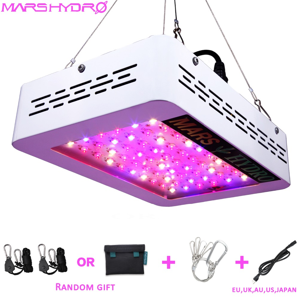 Mars Hydro Mars 300W/600W LED Grow Light Best for Beginner Full Spectrum for Hydroponic Planting Duty free Grow Tent Plants