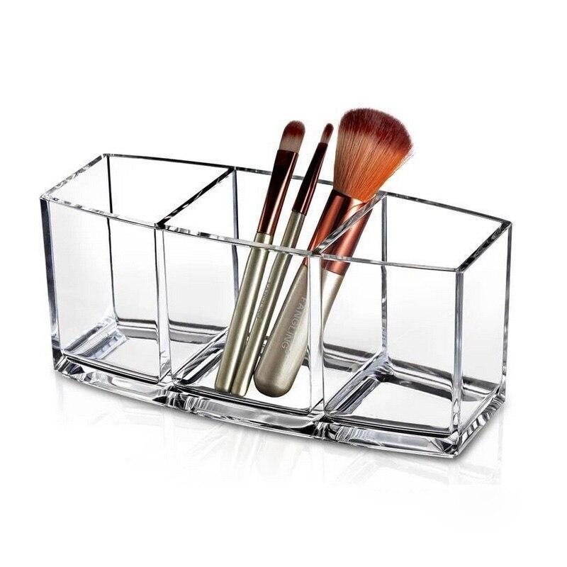 Mordoa Storage Transparent Acrylic Make-up Jewelry Storage Boxes Desktop Cosmetic Organizers Makeup Box Nail polish Rack