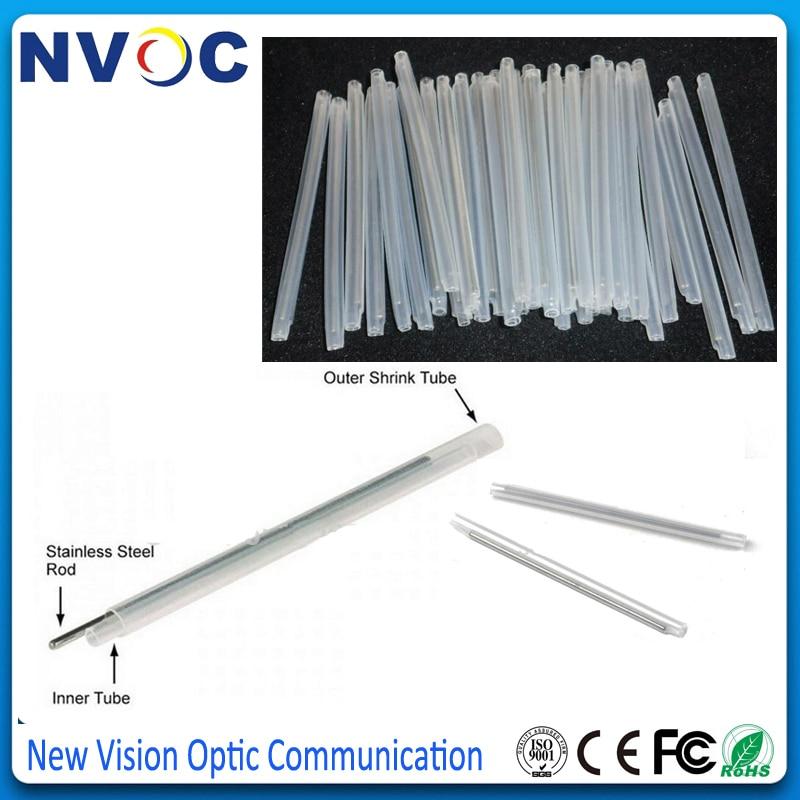100 Pieces 60mm Fiber Optic Fusion Splice Protector Sleeves Heat Shrink Tube