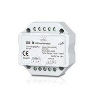 SS B AC Triac RF Push Dimmer Switch 100 240VAC Input 200 480W Output Need To