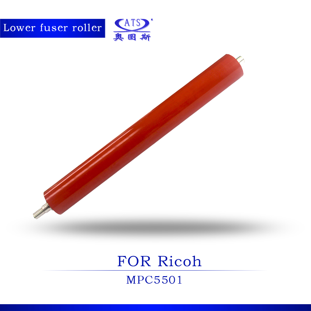 цены  1Pcs Photocopy Machine Pressure Roller For Ricoh AFicio MPC5501 Coiper Parts MPC 5501 Lower Fuser Roller
