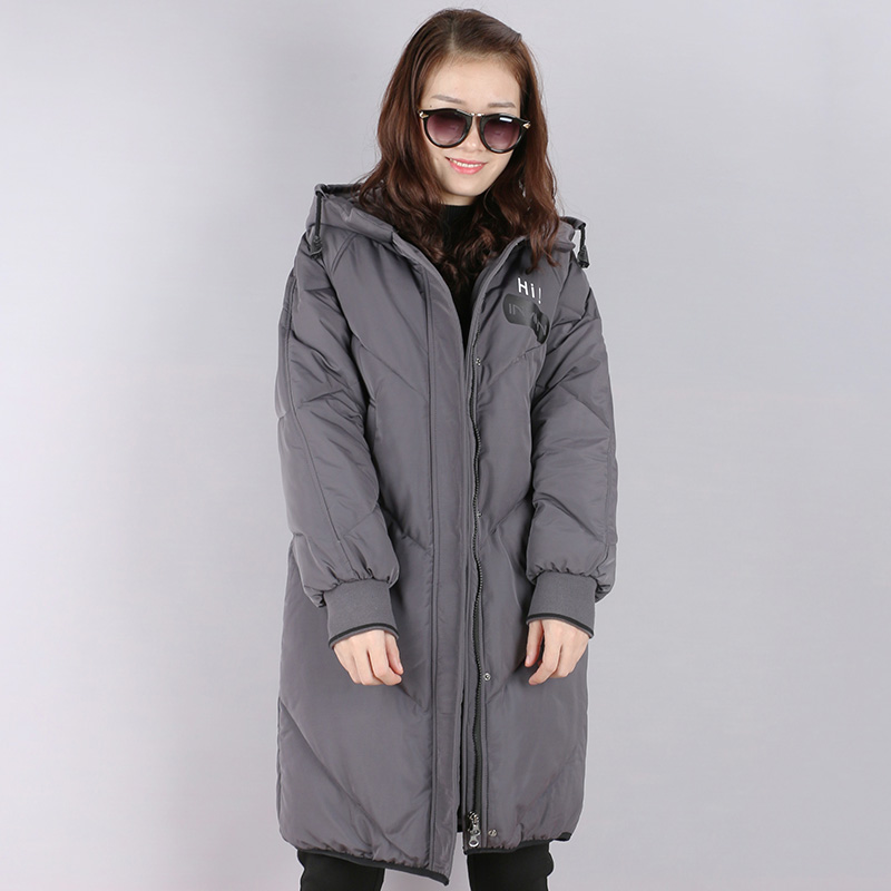 2017 Fashion Women Parka Winter Jacket Coat with Hood Thick Long Cotton-padded Jacket Snow wear Outerwear Coats Plus Size Coats